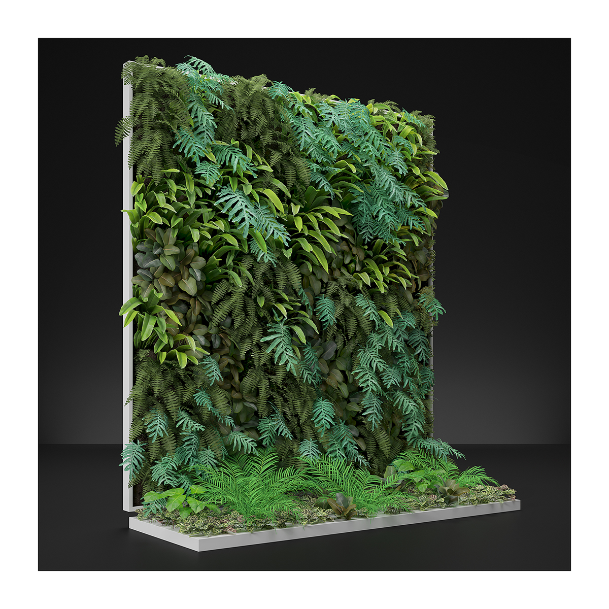 Virtual Vertical Garden N2 001 1 - 2020 - Virtual Vertical Garden N°2