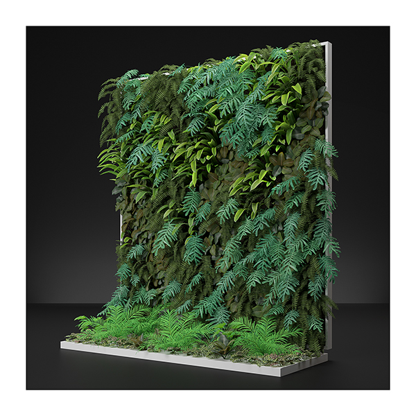 Virtual Vertical Garden N2 003 - 2020 - Virtual Vertical Garden N°2