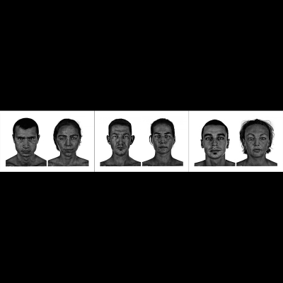 002 The last HomoSapiens Couples Faces 000 400x400 - Visuals. 2018