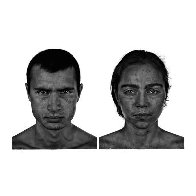 002 The last HomoSapiens Couples Faces 001 400x400 - Visuals. 2018