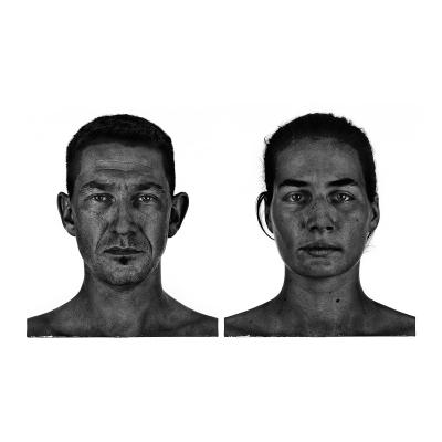 002 The last HomoSapiens Couples Faces 002 400x400 - Visuals. 2018