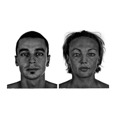 002 The last HomoSapiens Couples Faces 003 400x400 - Visuals. 2018