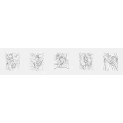 011 FootJob Queen V2 DrawBot 000 400x400 - Visuals. 2019