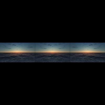 017 Virtual Sea VI Triptych N1 000 400x400 - Visuals. 2018