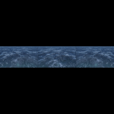 019 Virtual Sea VII Triptych I 000 400x400 - Visuals. 2018