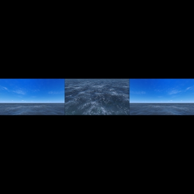 019 Virtual Sea VII Triptych II 000 400x400 - Visuals. 2018
