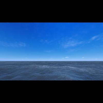 019 Virtual Sea VII Triptych II 003 400x400 - Visuals. 2018