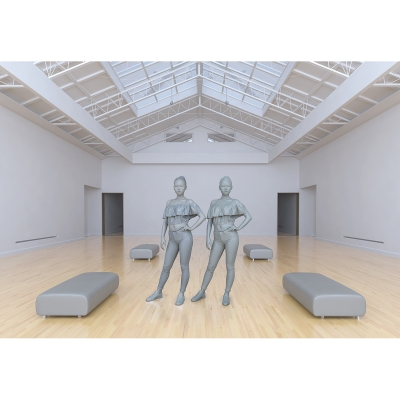 024 Le Musée Imaginaire Modèles Virtuels 004 400x400 - Visuals. 2017