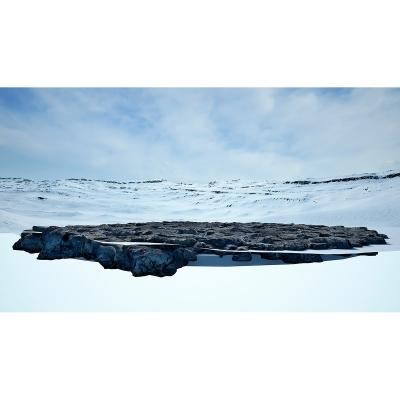 037 Virtual Land Art V1 Triptych N°1 003 400x400 - Visuals. 2018