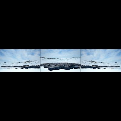 037 Virtual Land Art V1 Triptych N°2 000 400x400 - Visuals. 2018