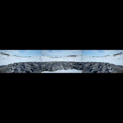 037 Virtual Land Art V1 Triptych N°3 000 400x400 - Visuals. 2018