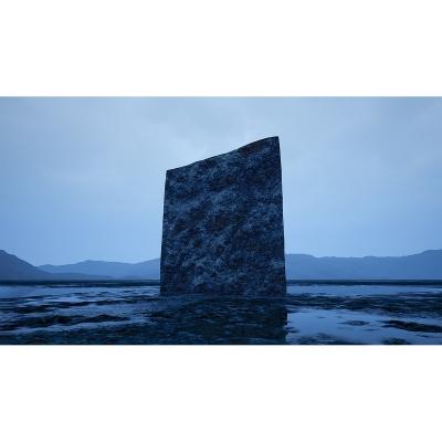 039 C Virtual Land Art V2 Triptych N°3 003 400x400 - Visuals. 2018