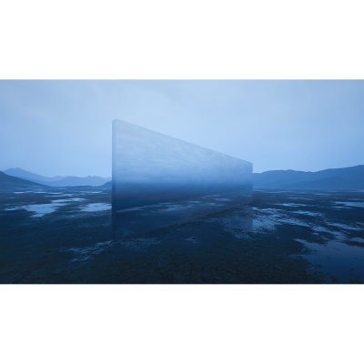 039 E Virtual Land Art V2 Triptych N°5 002 400x400 - Visuals. 2018