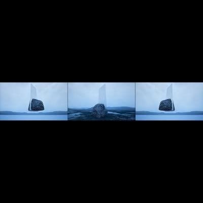 039 G Virtual Land Art V2 Triptych N°7 000 400x400 - Visuals. 2018