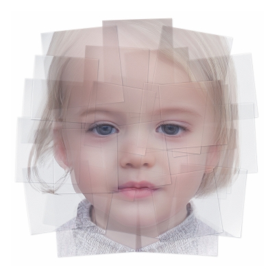 042 Generated Faces by Artificial Intelligence Kids 001 400x400 - Visuals. 2019