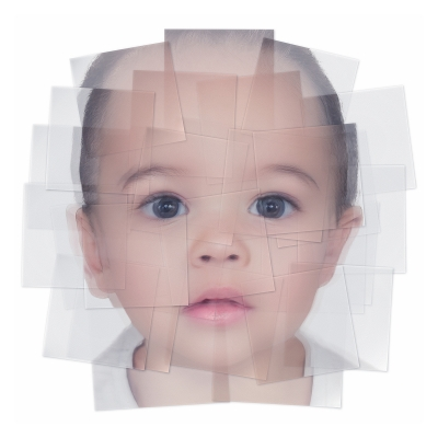 042 Generated Faces by Artificial Intelligence Kids 002 400x400 - Visuals. 2019