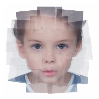 042 Generated Faces by Artificial Intelligence Kids 004 400x400 - Visuals. 2019