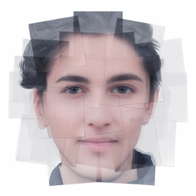 045 Generated Faces by Artificial Intelligence Teens 006 400x400 - Visuals. 2019