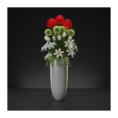 140 Virtual Flowers Bouquet Triptych N1 002 400x400 - Visuals. 2020