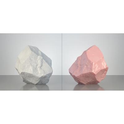 B HumanSkin Shaped Stone Diptych 001 1 400x400 - Visuals. 2016