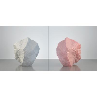 B HumanSkin Shaped Stone Diptych 002 1 400x400 - Visuals. 2016