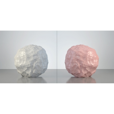 B HumanSkin Shaped Stone Diptych 003 1 400x400 - Visuals. 2016