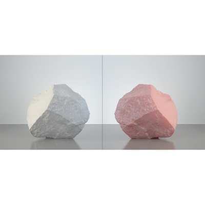 B HumanSkin Shaped Stone Diptych 004 1 400x400 - Visuals. 2016