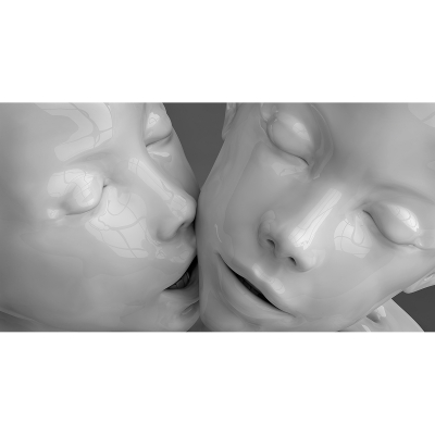 C The little models Kiss of the love 002 400x400 - Visuals. 2013