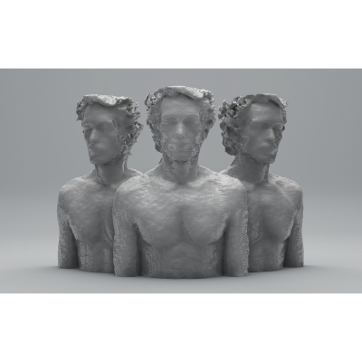 F 3D Portraits II 005 400x400 - Visuals. 2014