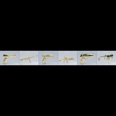 G Gold Century Weapons 000 1 400x400 - Visuals. 2016