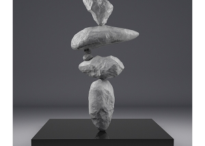 I will not Make any more Boring Art III 001 300x214 - 2020 - I will not Make any more Boring Art. III. (Rock Balancing)