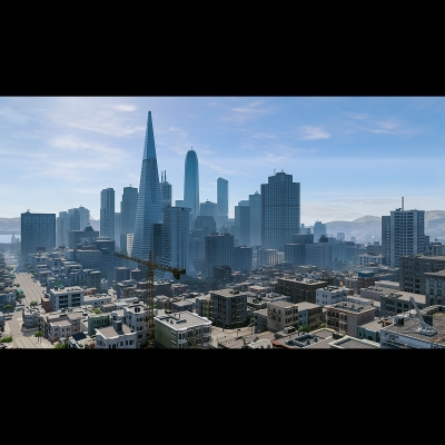 IG 013 Virtual Cities San Francisco Diptych N2 001 400x400 - Visuals. 2018