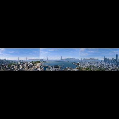 IG 014 Virtual Cities San Francisco Tritych N1 000 400x400 - Visuals. 2018