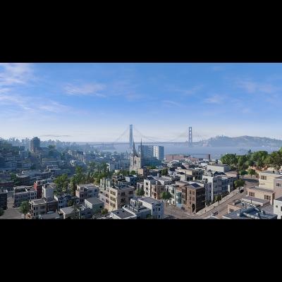 IG 014 Virtual Cities San Francisco Tritych N1 001 400x400 - Visuals. 2018