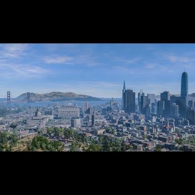 IG 014 Virtual Cities San Francisco Tritych N1 003 400x400 - Visuals. 2018