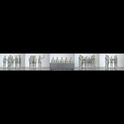 L The Museum of HomoSapiens. Human Activities. Corporate People 000 1 400x400 - Visuals. 2016