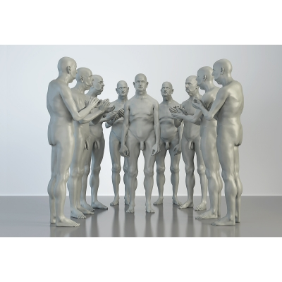 L The Museum of HomoSapiens. Human Activities. Corporate People 004 1 400x400 - Visuals. 2016