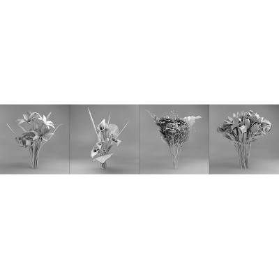 B Eternal Flowers 001 400x400 - Visuals. 2011