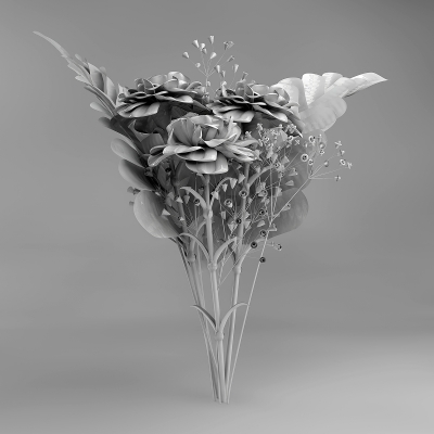 B Eternal Flowers 004 400x400 - Visuals. 2011