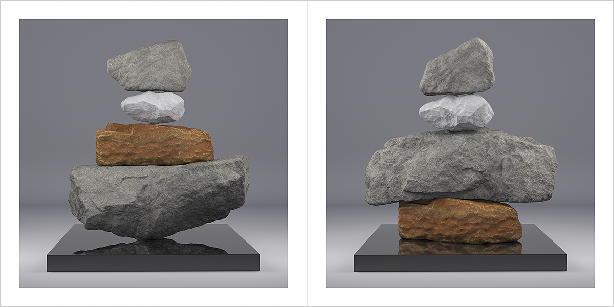 I will not Make any more Boring Art V 000 1200 600 - 2020 - I will not Make any more Boring Art. V. (Rock Balancing)