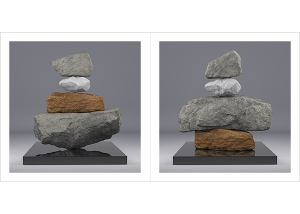 I will not Make any more Boring Art V 000 300x214 - 2020 - I will not Make any more Boring Art. V. (Rock Balancing)