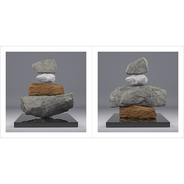 I will not Make any more Boring Art V 000 - 2020 - I will not Make any more Boring Art. V. (Rock Balancing)