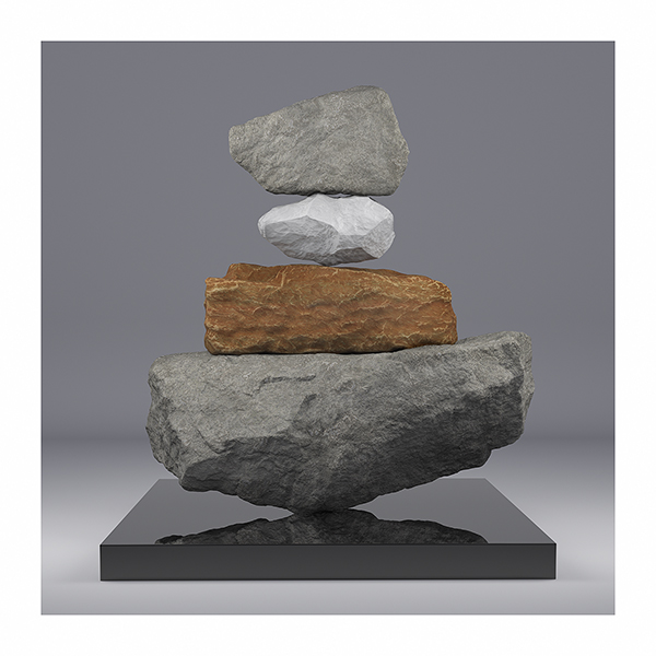 I will not Make any more Boring Art V 001 - 2020 - I will not Make any more Boring Art. V. (Rock Balancing)