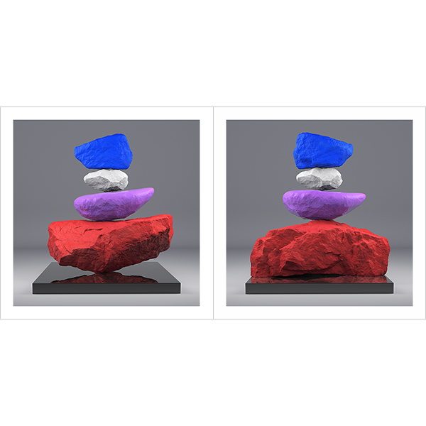 I will not Make any more Boring Art VI 000 - 2020 - I will not Make any more Boring Art. VI. (Rock Balancing)