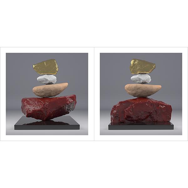 I will not Make any more Boring Art VII 000 - 2020 - I will not Make any more Boring Art. VII. (Rock Balancing)