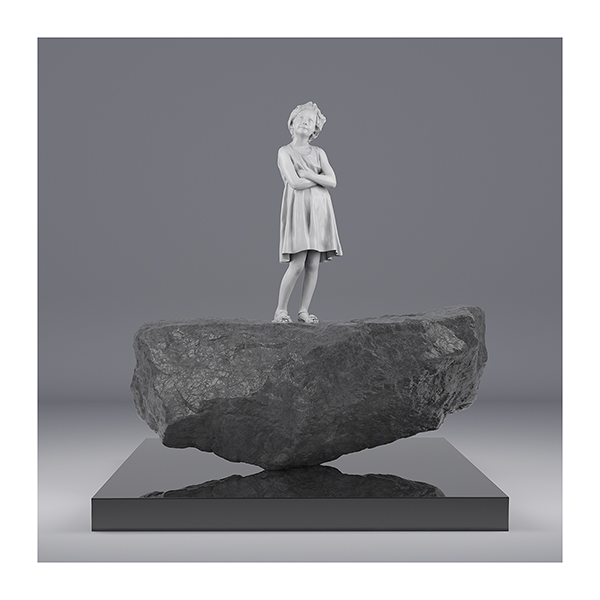I will not Make any more Boring Art X 002 - 2020 - I will not Make any more Boring Art. X. (Portrait of Young Girls)