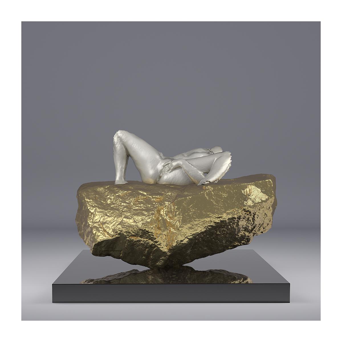 I will not Make any more Boring Art XI 003 1 - 2020 - I will not Make any more Boring Art. XI. (L'Origine Virtuelle du Monde)