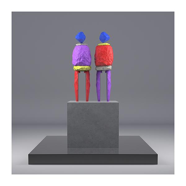I will not Make any more Boring Art XII 001 - 2020 - I will not Make any more Boring Art. XII. (Human-Shaped Stones)