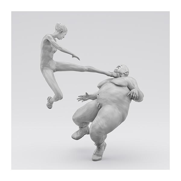 I will not Make any more Boring Art XIV 001 - 2020 - I will not Make any more Boring Art. XIV. (Men, Women. The Struggle. I)