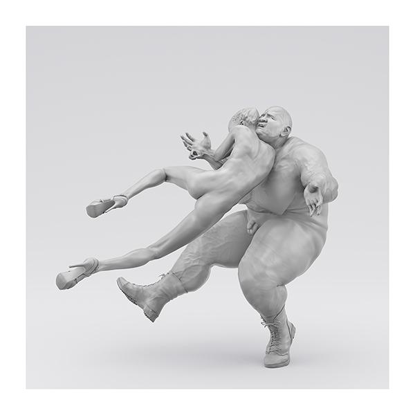 I will not Make any more Boring Art XIV 002 - 2020 - I will not Make any more Boring Art. XIV. (Men, Women. The Struggle. I)